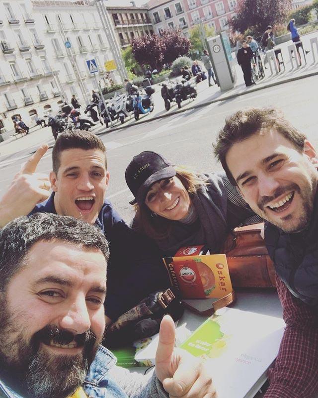 Javi Estévez, Antonio Arrabal, Miguel Cobo y Begoña Rodrigo de Top Chef