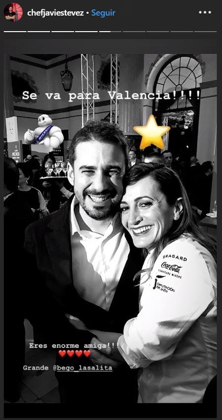 Javi Estévez y Begoña Rodrigo de Top Chef