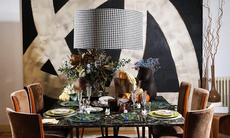 'El arte de decorar la mesa' por Fiona Ferrer: Acción de Gracias