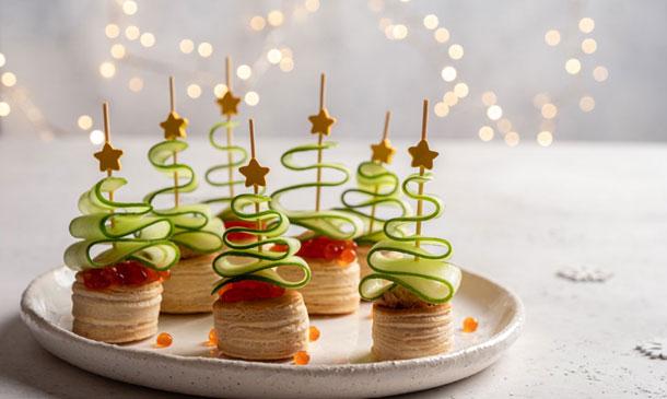 Ideas fáciles y rápidas para tus aperitivos navideños
