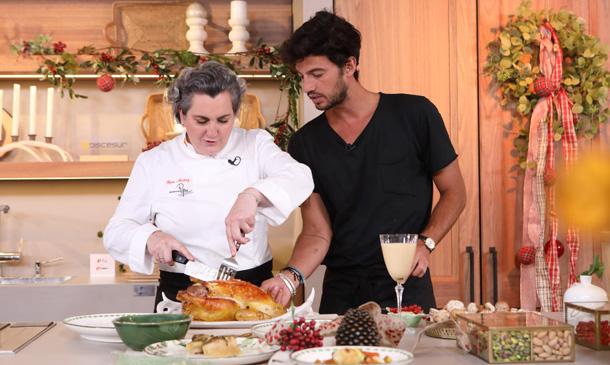 Te proponemos un menú con pularda rellena y 'mousse' de turrón para Navidad