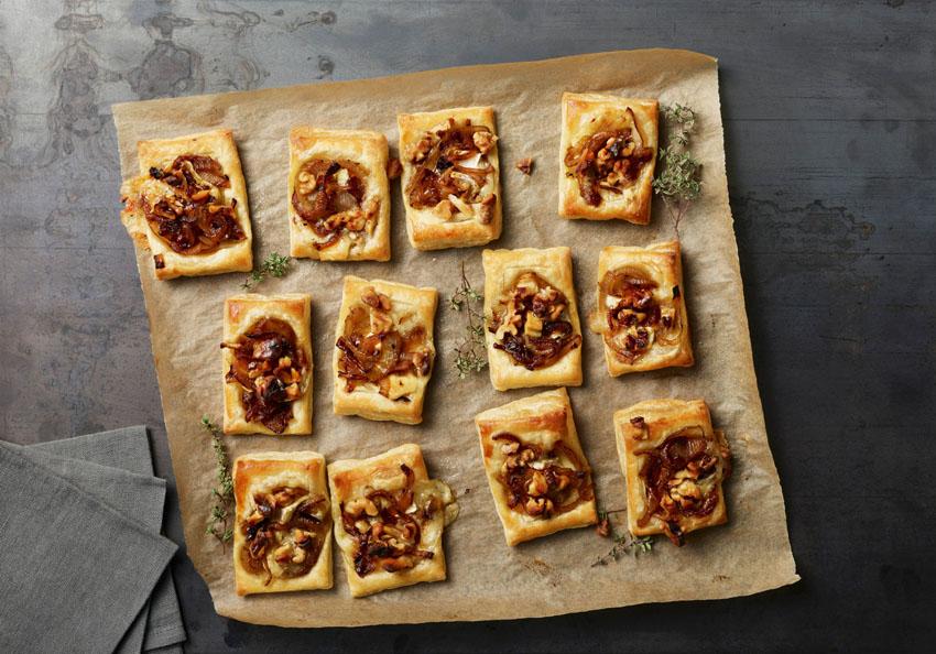 recetas-hojaldre-navidad-aperitivos-pera-queso