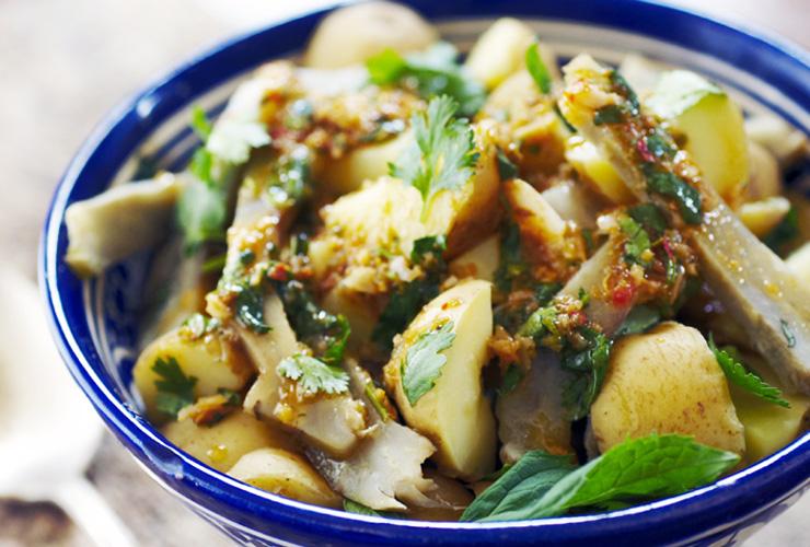 patatas-alcachofas