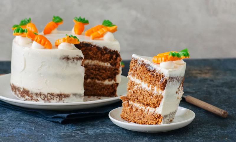 'Carrot cake', la tarta más irresistible