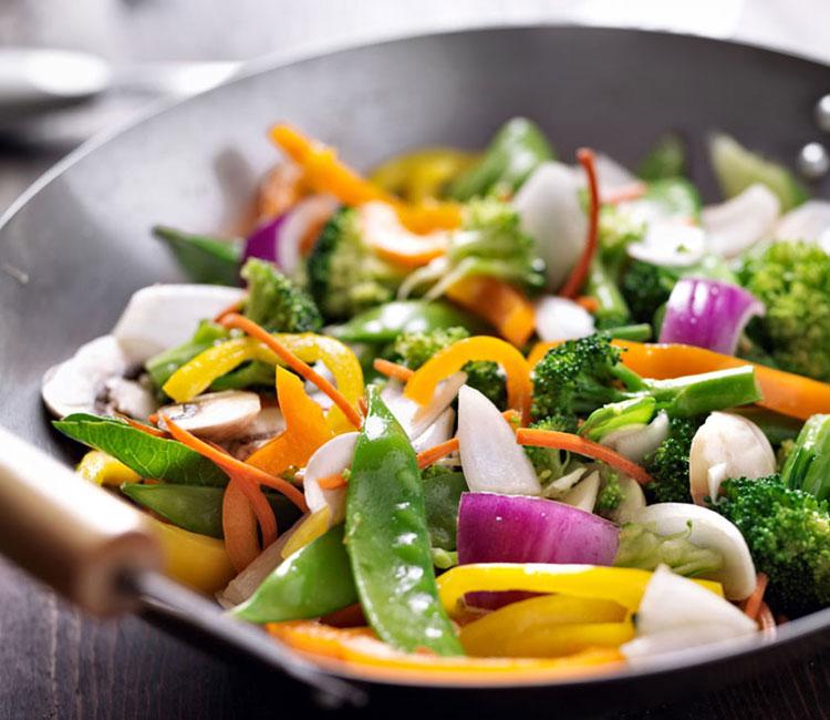 Wok vegetariano