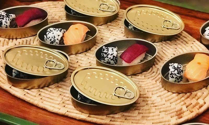 'El arte de decorar la mesa', por Fiona Ferrer: comer sushi, un verdadero ritual