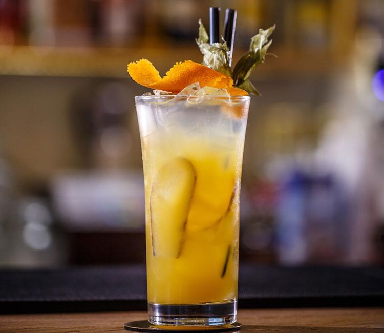 Cóctel orange ginger
