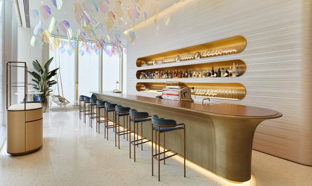 Ahora puedes sentarte a tomar un café en Louis Vuitton