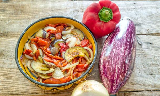 Estas son las recetas más  'veggies' de las cocinas regionales
