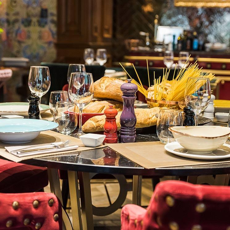 'El arte de decorar la mesa', por Fiona Ferrer: la pasta como protagonista