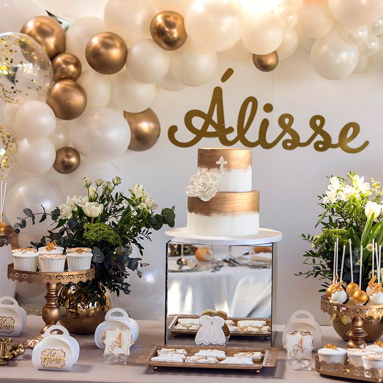 Organiza una mesa dulce de bautizo, como la de Carlos Baute y Astrid Klisans