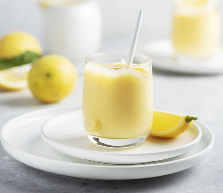 Natillas de limón