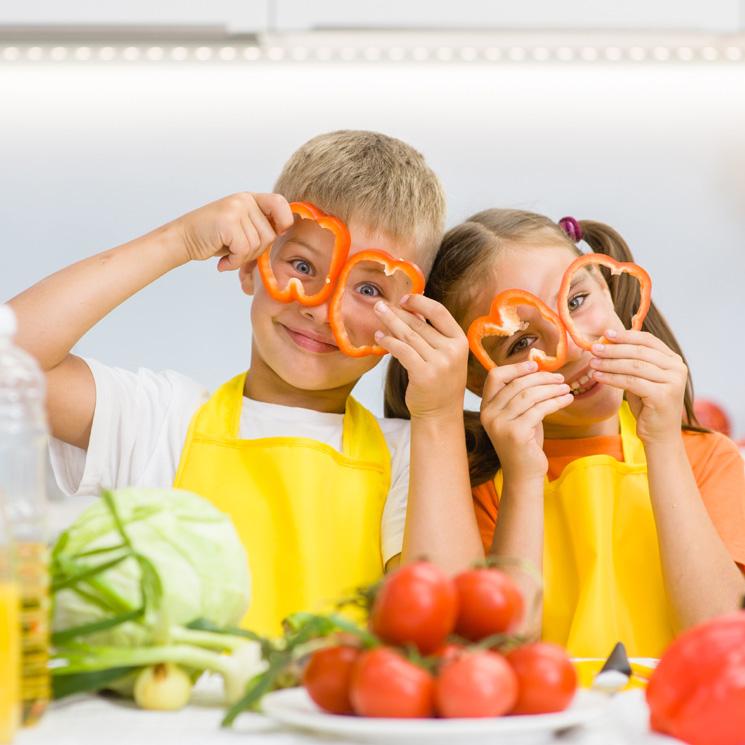 Recetas saludables para cuando tienes a los niños en casa
