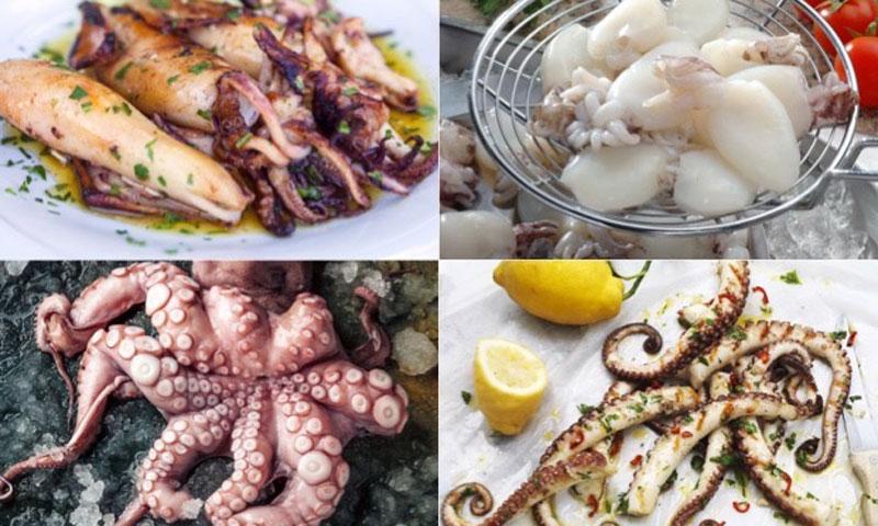 Descubre lo que pueden dar de sí en la cocina el pulpo y el calamar