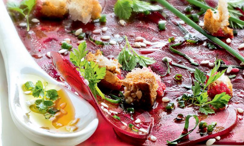 'Carpaccios' de verduras: ¡fáciles, saludables y riquísimos!