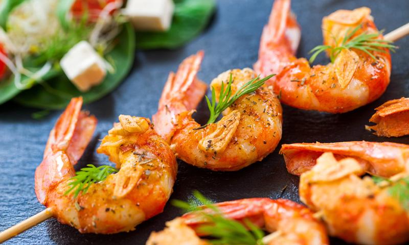 Brochetas 'light': una alternativa deliciosa para tus comidas o cenas sanas