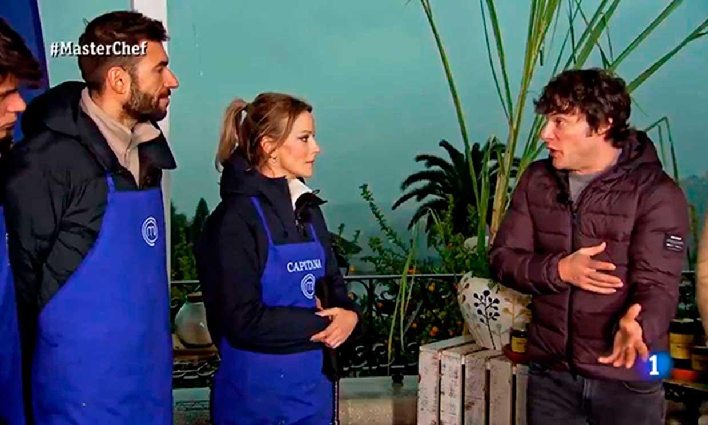 Los aspirantes se rebelan contra Jordi Cruz en el segundo programa de 'Masterchef'