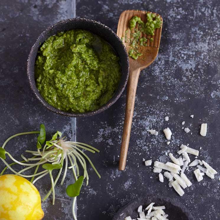 Pestos sin albahaca: tres recetas sorprendentes