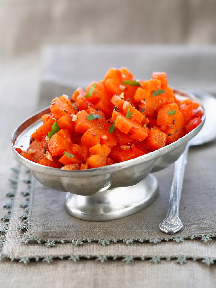 Ensalada de zanahorias al comino