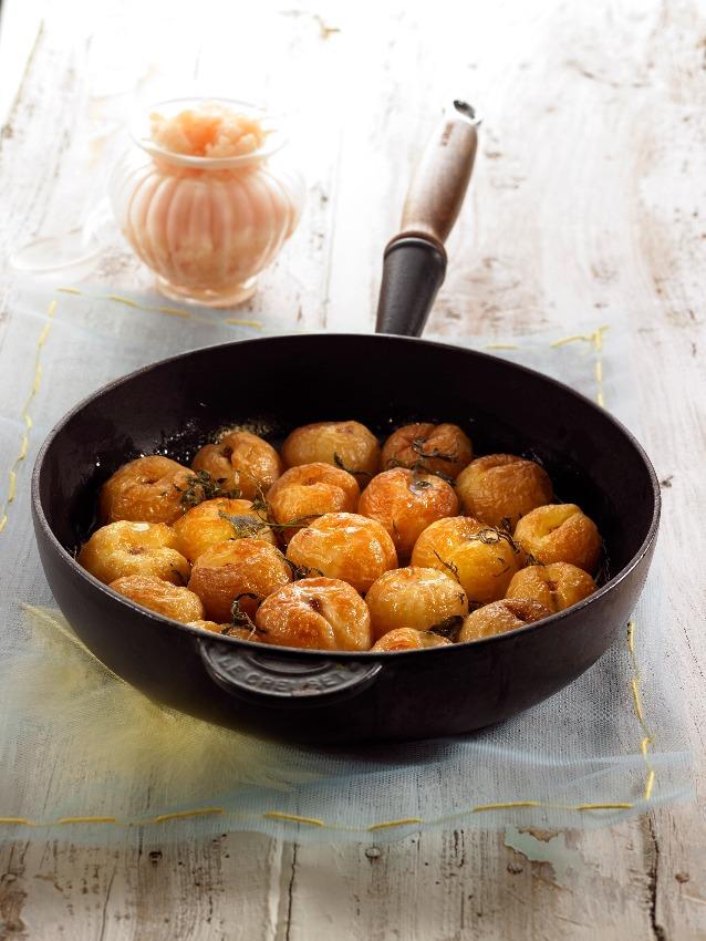 albaricoques-tomillo-miel