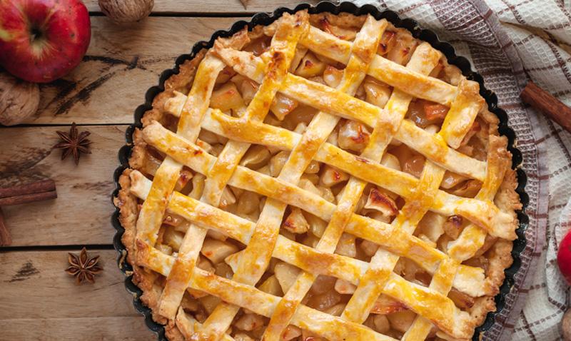 ¿Celebramos el día del 'Apple pie' con estas irresistibles tartas de manzana?