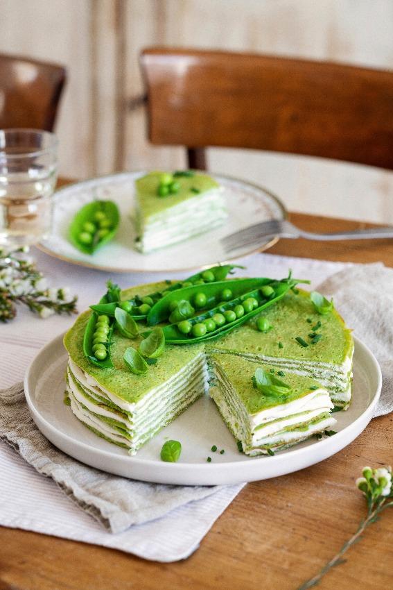 pastel-verduras-guisantes-queso-crema