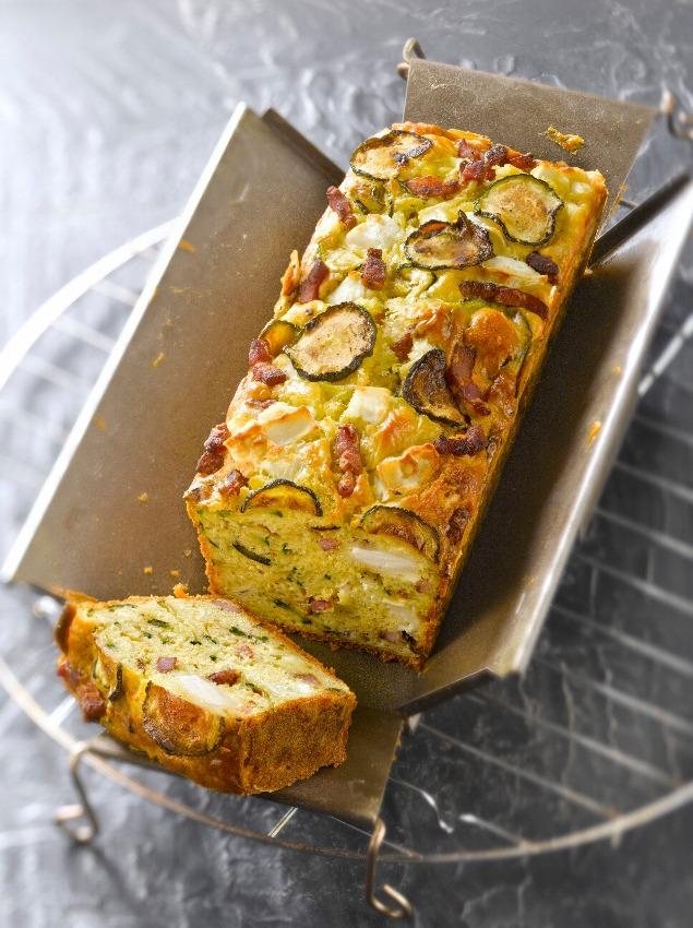 pastel-verduras-calabacin-beicon-queso-cabra