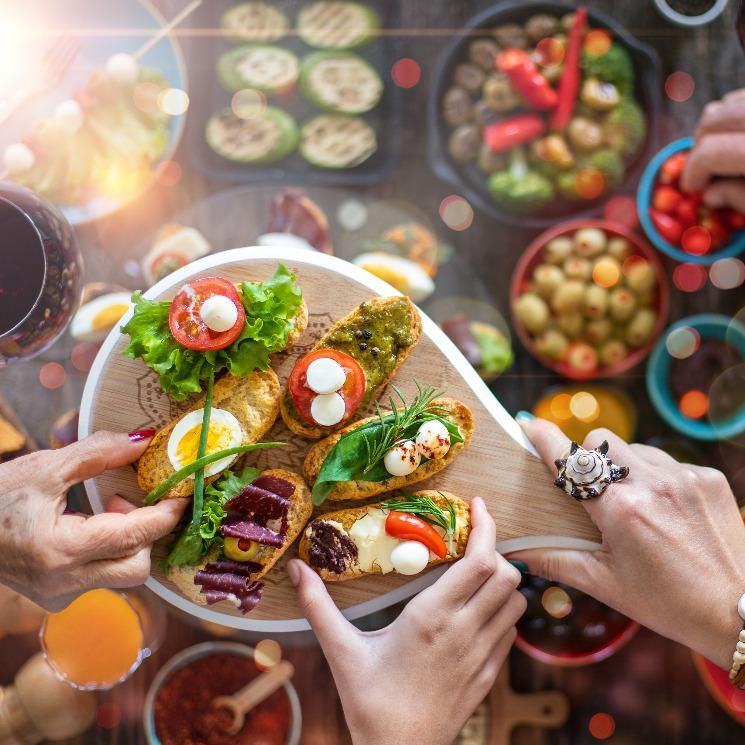 Diez platos para comer con los dedos