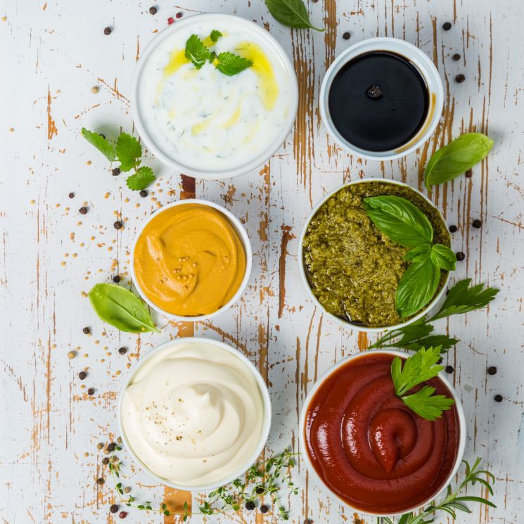 Kétchup, mayonesa, mostaza... ¡Prepara tus propias salsas caseras!