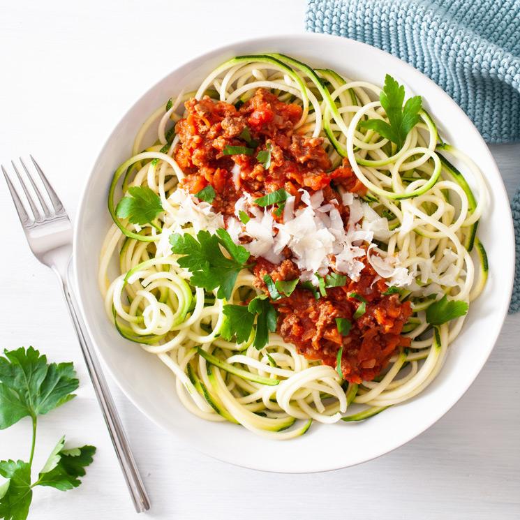 Espaguetis de verdura: sanos, deliciosos… ¡y muy 'instagrameables'!