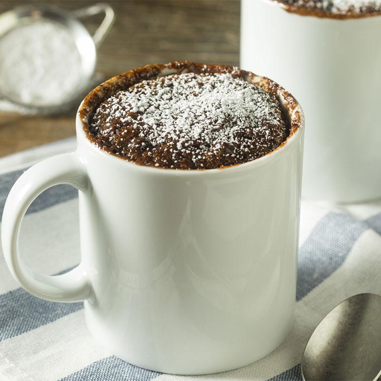 Mug cake de brownie