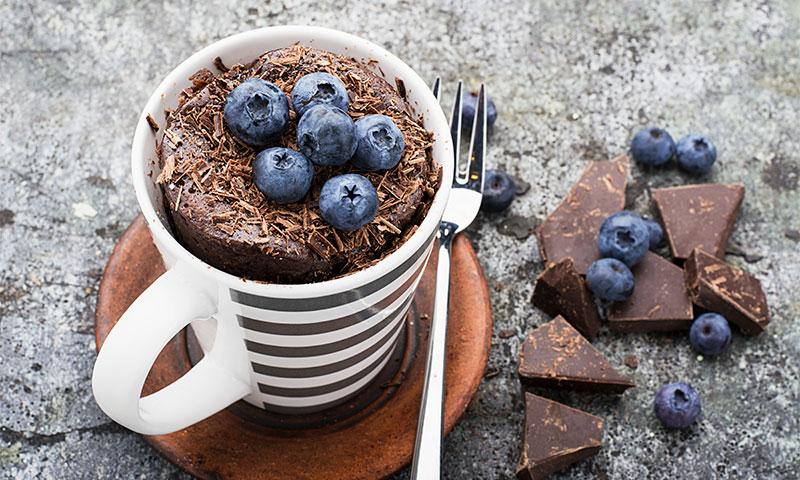 Los mejores postres en versión 'mug cake'