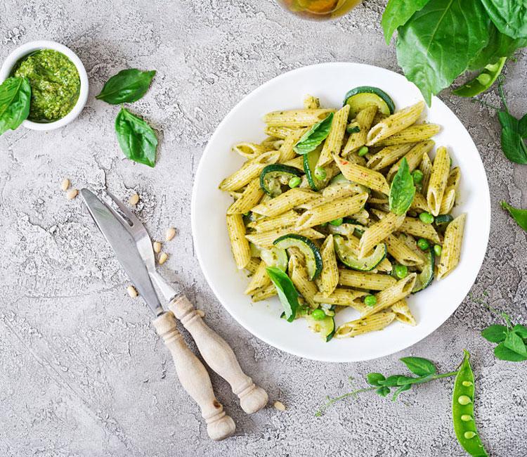 pasta-albahaca