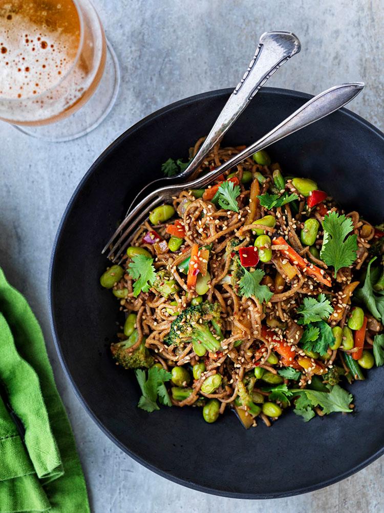 noodles-verduras