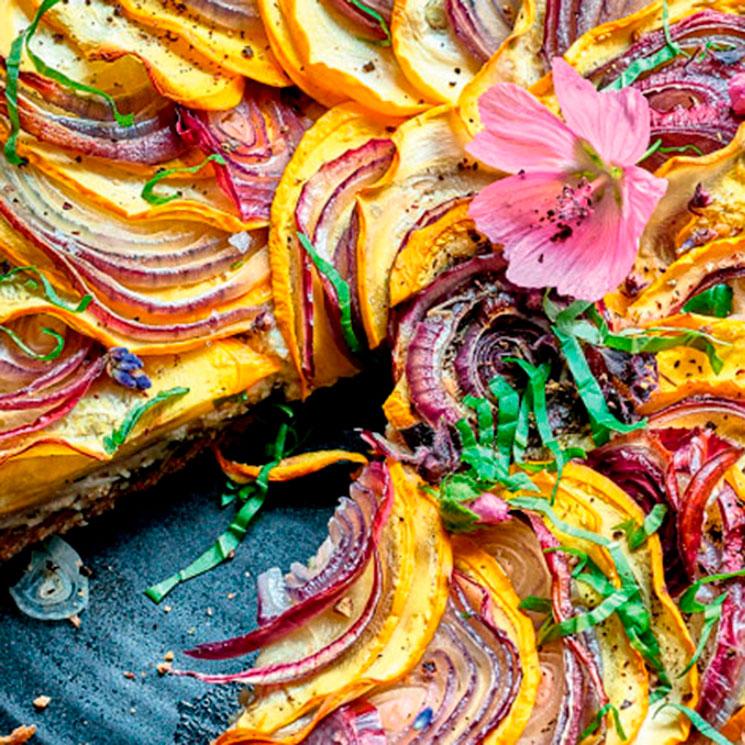 Platos vegetarianos: vistosos, originales, saludables y… ¡riquísimos!
