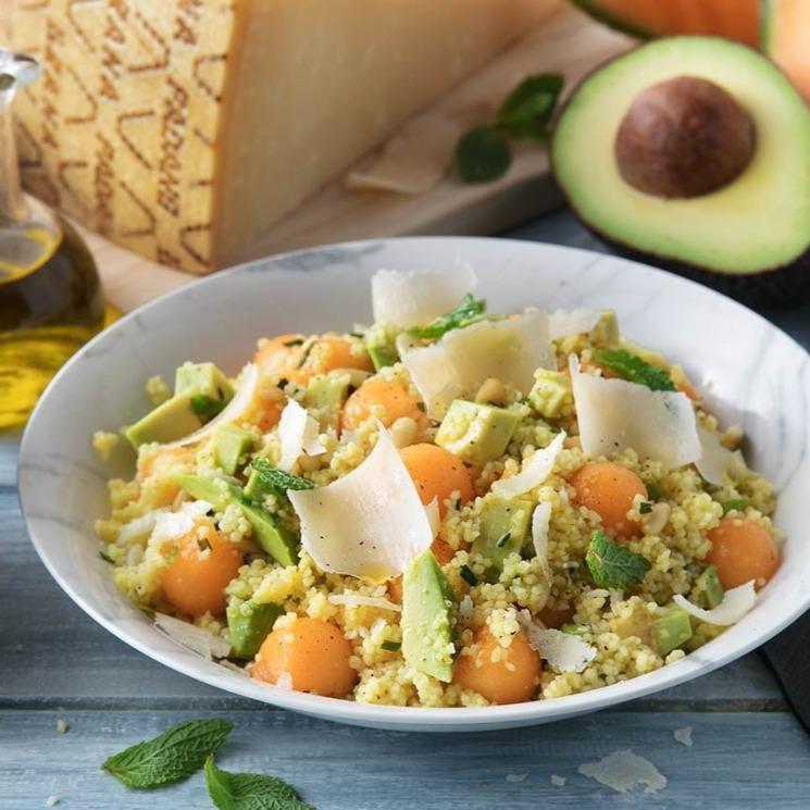 cuscus-melon-aguacate-grana-padano