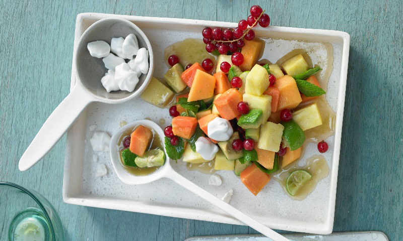 Deliciosas y refrescantes, así son estas recetas con melón