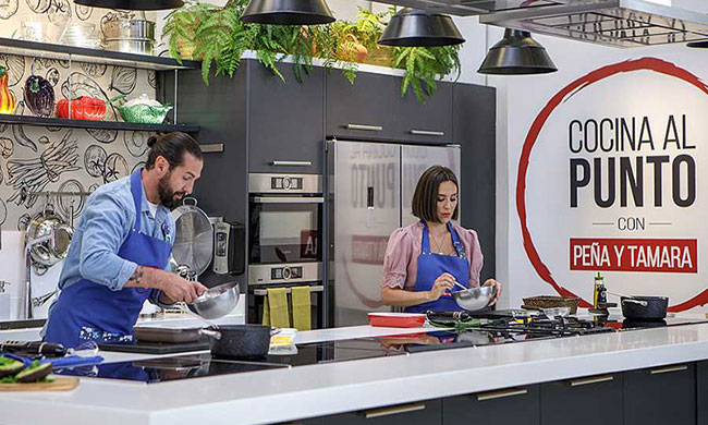 Cocina al punto con Peña y Tamara