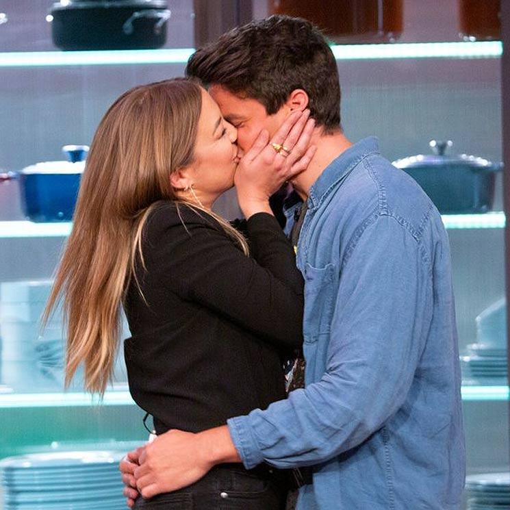 ¡Al fin llegaron los besos! Así ha terminado 'Masterchef' para Luna y Alberto