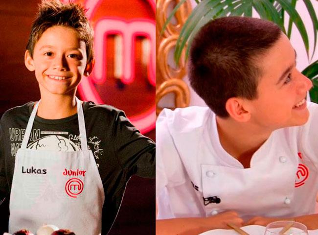Lukas en MasterChef Junior 3