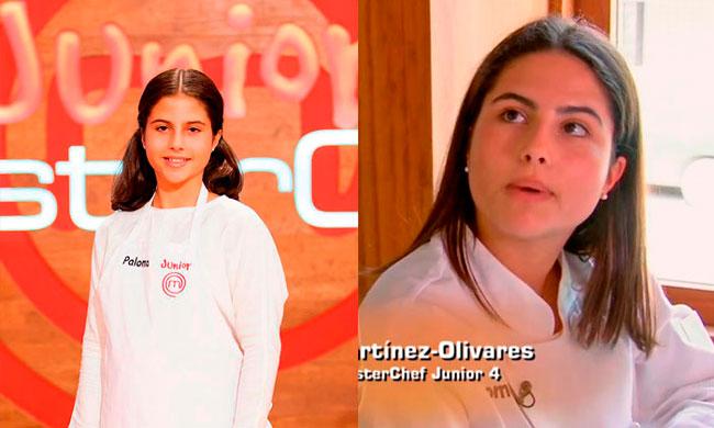Paloma en MasterChef Junior 4