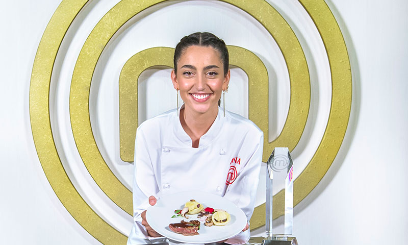 Charlamos con Ana Iglesias, ganadora de Masterchef 8, la joyera-cocinera de la eterna sonrisa