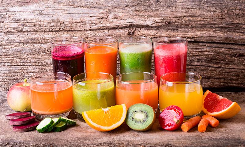 Refréscate y disfruta de un cóctel de minerales y vitaminas con estos zumos
