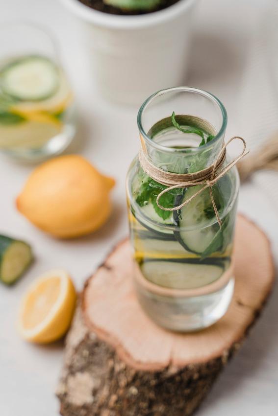 agua-pepino-limon-menta