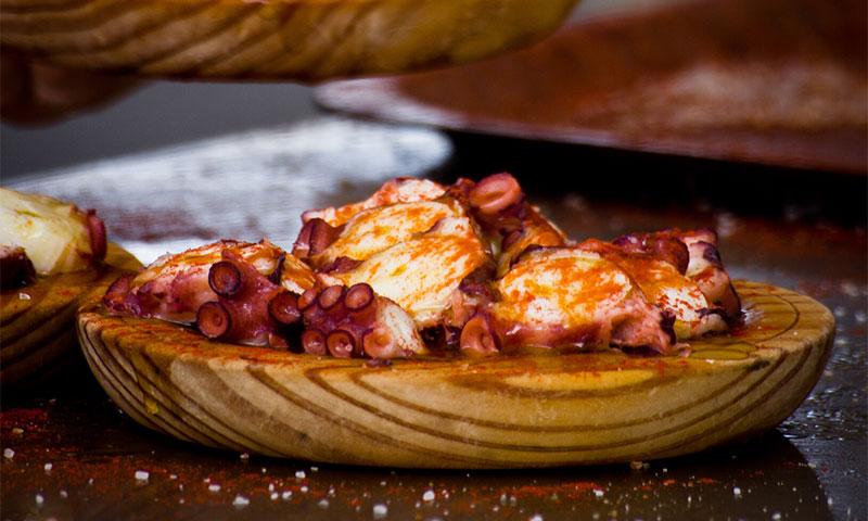 Cocina con sabores gallegos