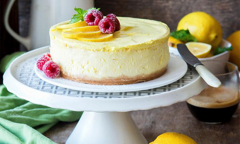Deliciosos postres con sabor a limón