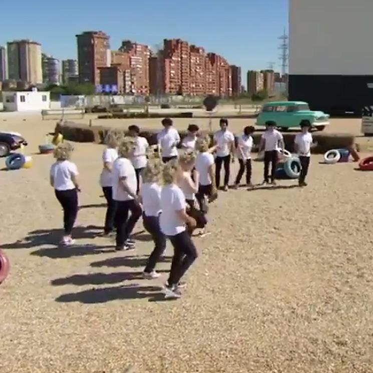 ¡Al más puro estilo 'Grease'! Los aspirantes de 'Masterchef Celebrity' se ganan la capitanía con un baile