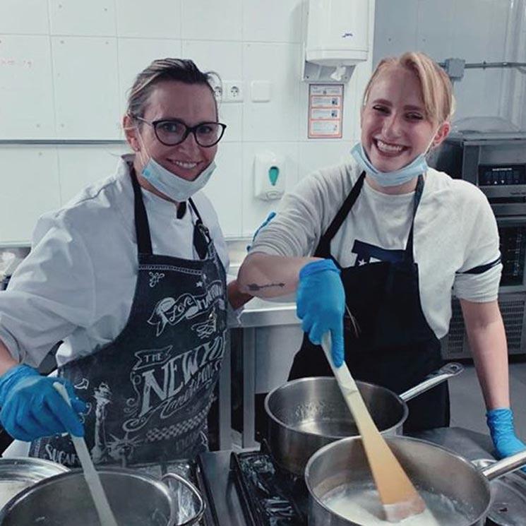 Ainhoa Arteta nos presenta a su pinche de cocina: su hija Sarah