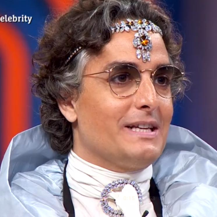 'Vas a parecer el conde Drácula': Pepe Rodríguez se prueba uno de los 'looks' de Josie y los concursantes opinan