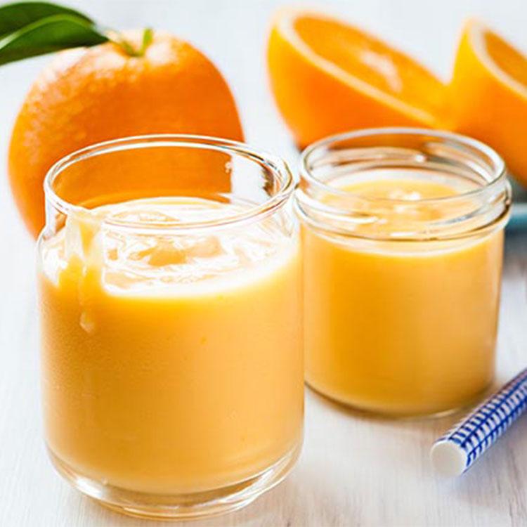 Cremoso de naranja